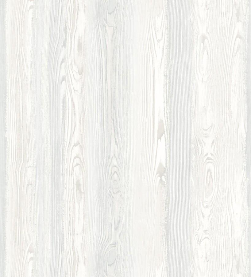 Papel pintado madera veteada blanca Balkan Hills 676894