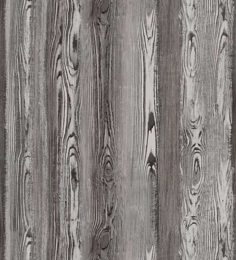 Papel pintado madera veteada oscura Balkan Hills 676896
