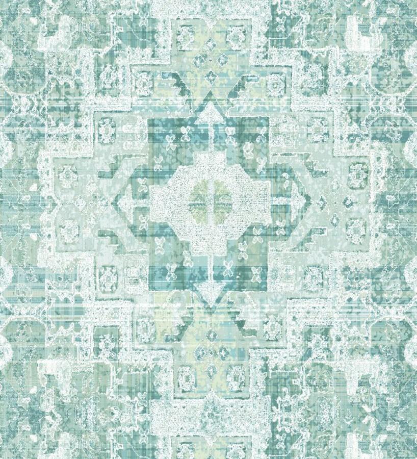Papel pintado mosaico étnico estilo boho Boho Etnik 676905