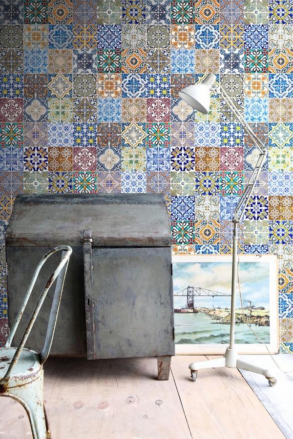 Papel pintado azulejos árabes estilo persa Persian Soul 676948