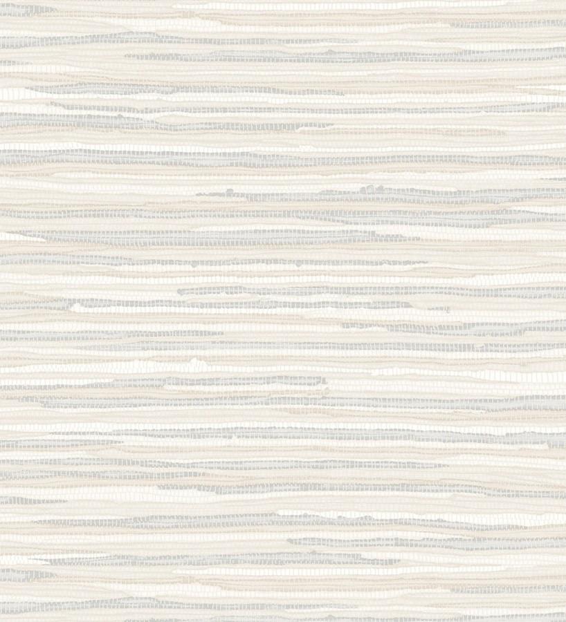Papel pintado trama textil tonos claros Ibizan Stripes 676974