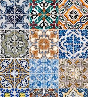 Papel pintado azulejos árabes estilo persa Persian Soul 677009
