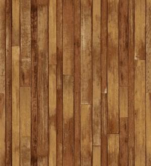 Papel pintado listones de madera pequeños estilo nórdico Algarve Beach 677059