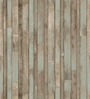 Papel pintado listones de madera pequeños estilo nórdico Algarve Beach 677060
