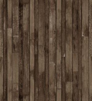 Papel pintado listones de madera pequeños estilo nórdico Algarve Beach 677061