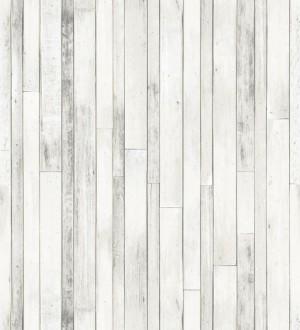 Papel pintado listones de madera pequeños estilo nórdico Algarve Beach 677064