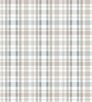 Papel pintado cuadros escoceses Goodman 677071
