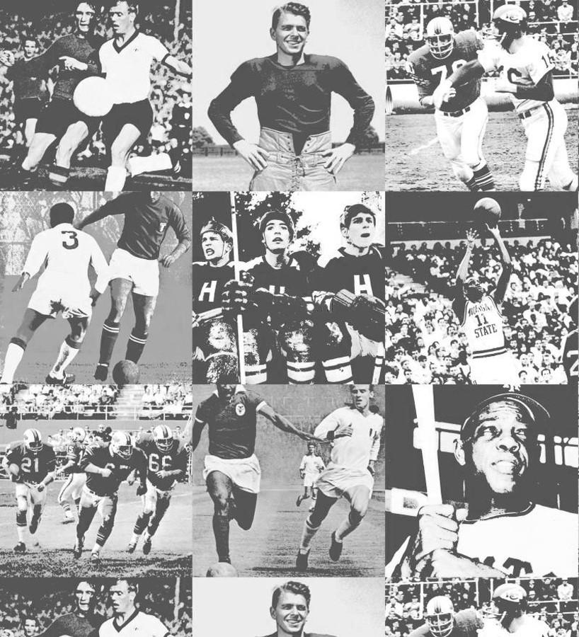 Papel pintado collage fotos de fútbol Great Players 677075