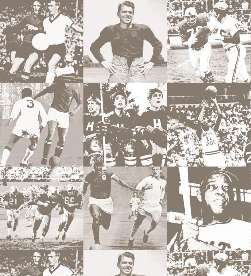 Papel pintado collage fotos de fútbol Great Players 677076