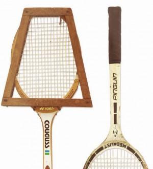 Papel pintado raquetas de tenis Tennis Time 677084