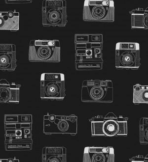 Papel pintado cámaras de fotos estilo vintage Vintage Pics 677190