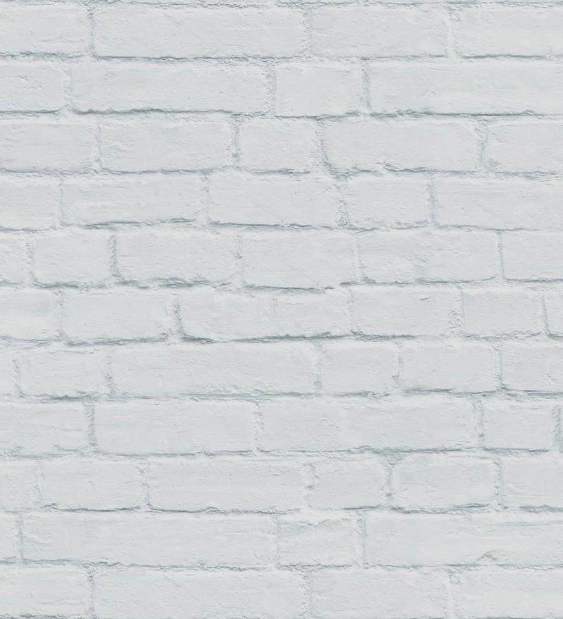Papel pintado ladrillo gris claro estilo nórdico Nassau Street 677204