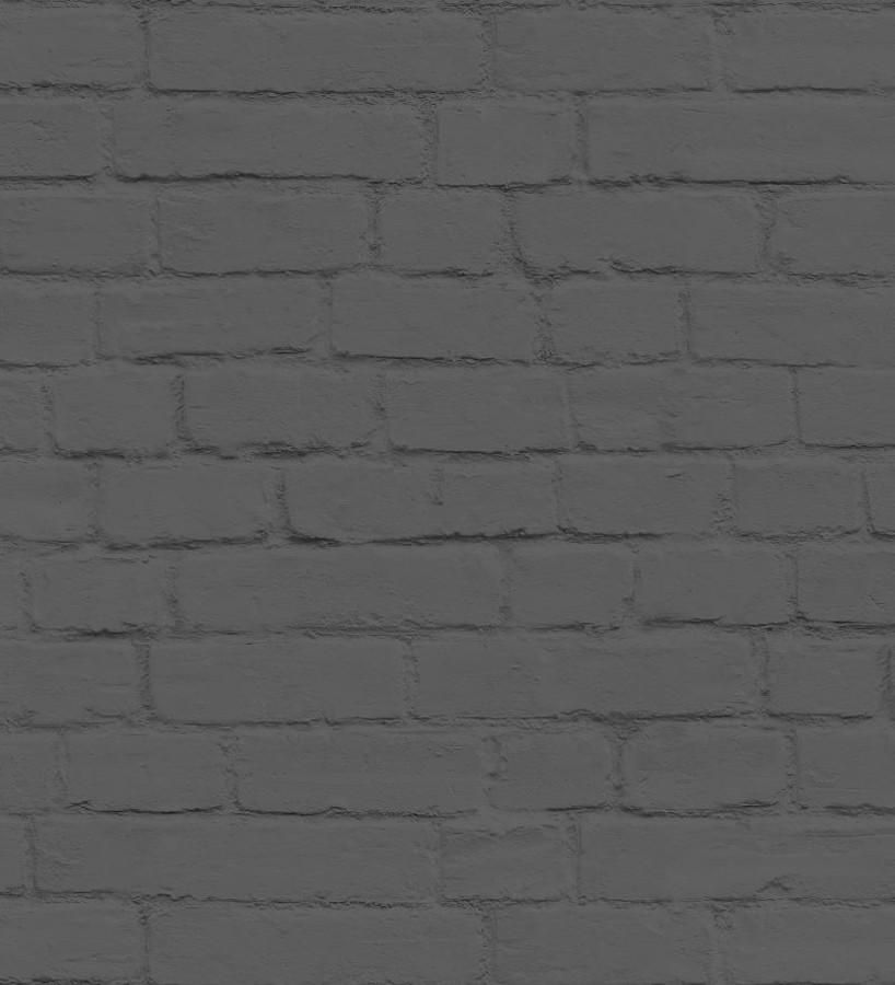 Papel pintado ladrillo gris estilo nórdico Nassau Street 677205