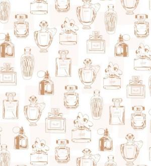 Papel pintado botes de perfumes vintage Infinite Bloom 677226
