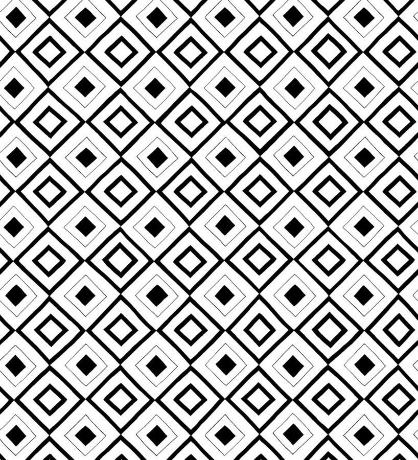 Papel pintado geométrico moderno Megan Chic 677236