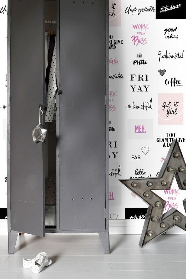 Papel pintado mensajes fashionitas Friday Vibes 677244