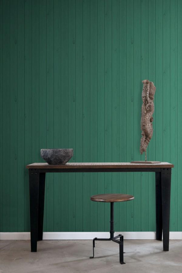 Papel pintado listones de madera estilo nórdico Sintra Wood 677271