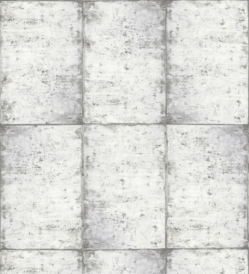 Papel pintado losetas materiales Springfield 677279