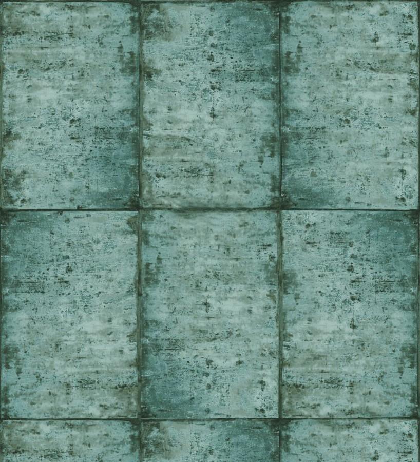 Papel pintado losetas materiales Springfield 677281