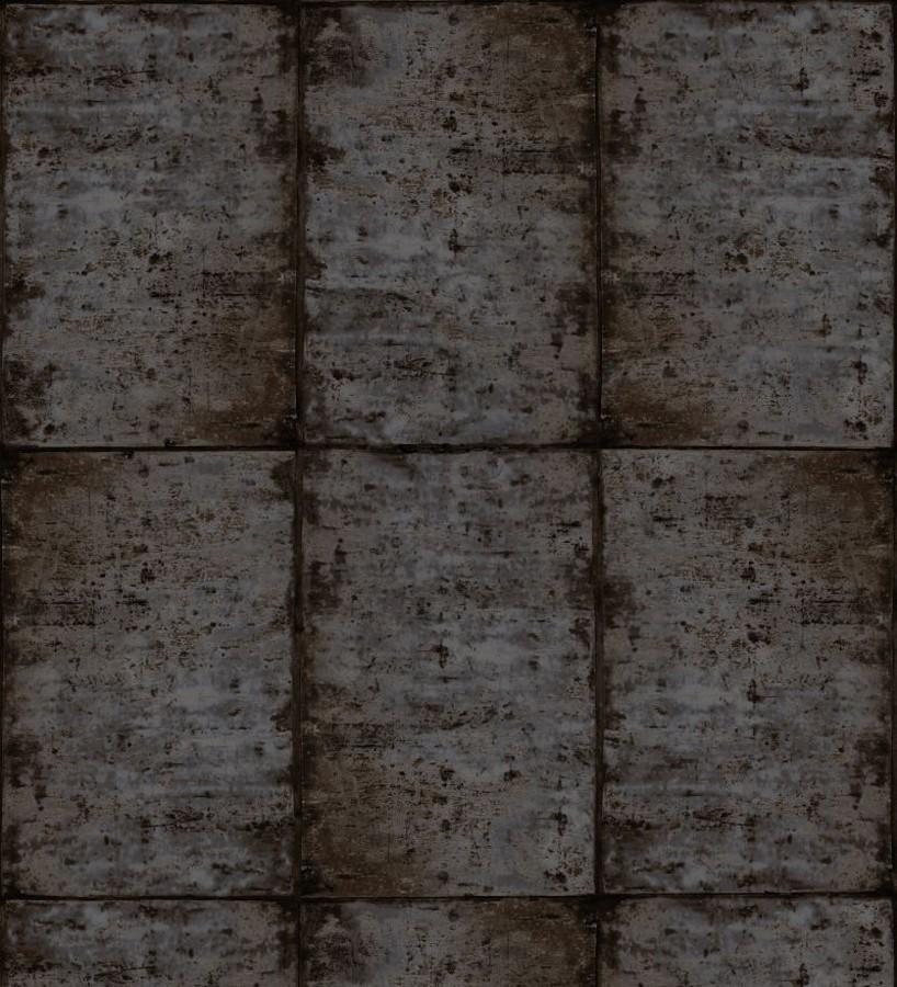 Papel pintado losetas materiales Springfield 677282