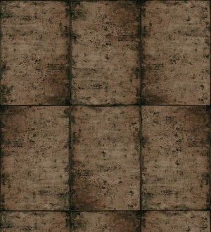 Papel pintado losetas materiales Springfield 677283