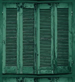 Papel pintado ventana de madera envejecida estilo vintage Sintra Windows 677287