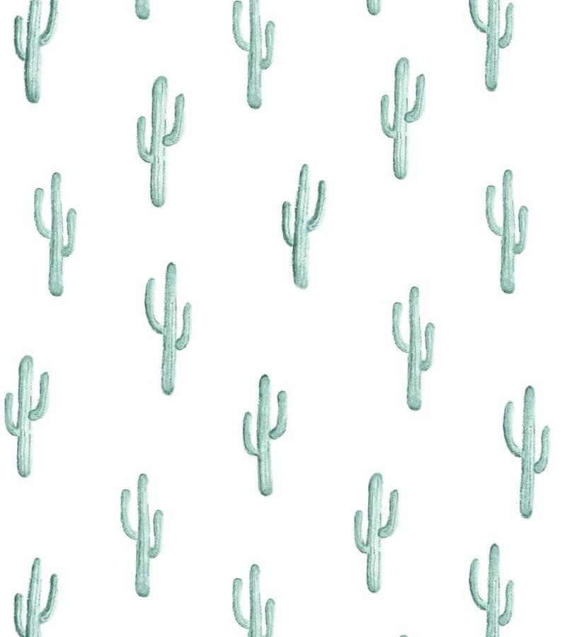 Papel pintado plantas de cactus Western Land 677300