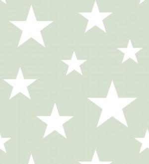 Papel pintado estrellas infantiles Lucky Planet 677339