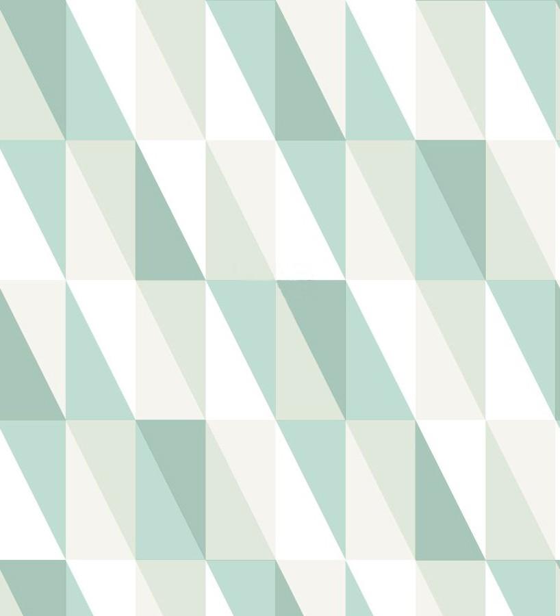 Papel pintado geométrico triángulos de colores Metrix Evolution 677358