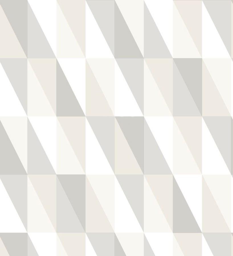 Papel pintado geométrico triángulos de colores Metrix Evolution 677360