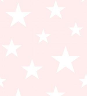 Papel pintado estrellas infantiles Lucky Planet 677369