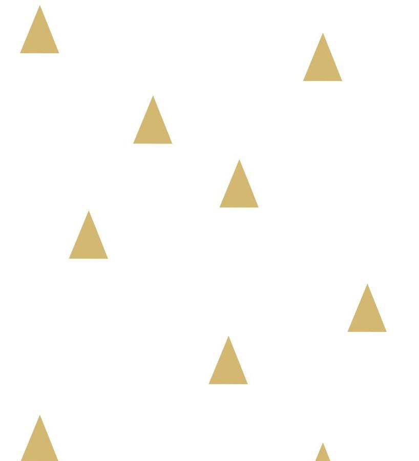 Papel pintado triángulos infantiles estilo nórdico Nordic Fantasy 677381