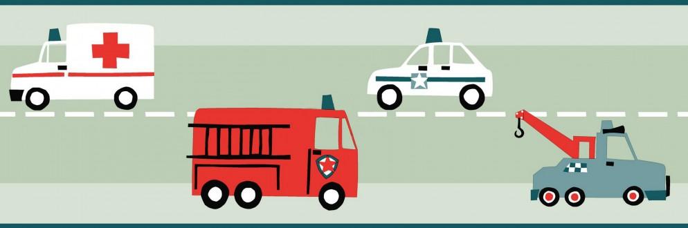 Cenefa infantil medios de transporte City Transport 677387