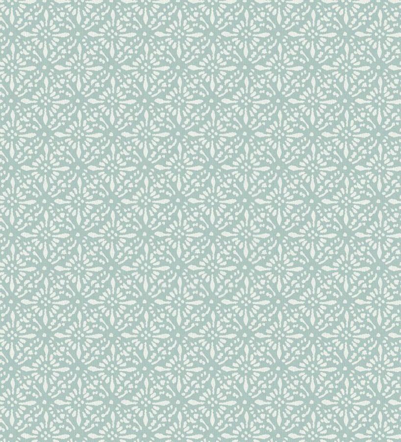 Papel pintado floral árabe Boho Emerald 677418