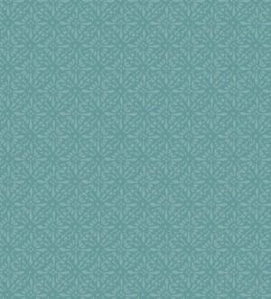 Papel pintado floral árabe Boho Emerald 677419