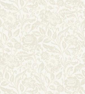 Papel pintado flores tonos beige Kendra Gardens 677422