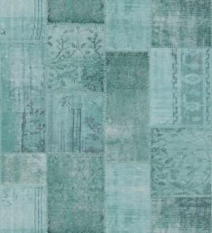 Papel pintado mosaico textil estilo boho Boho Mosaic 677430