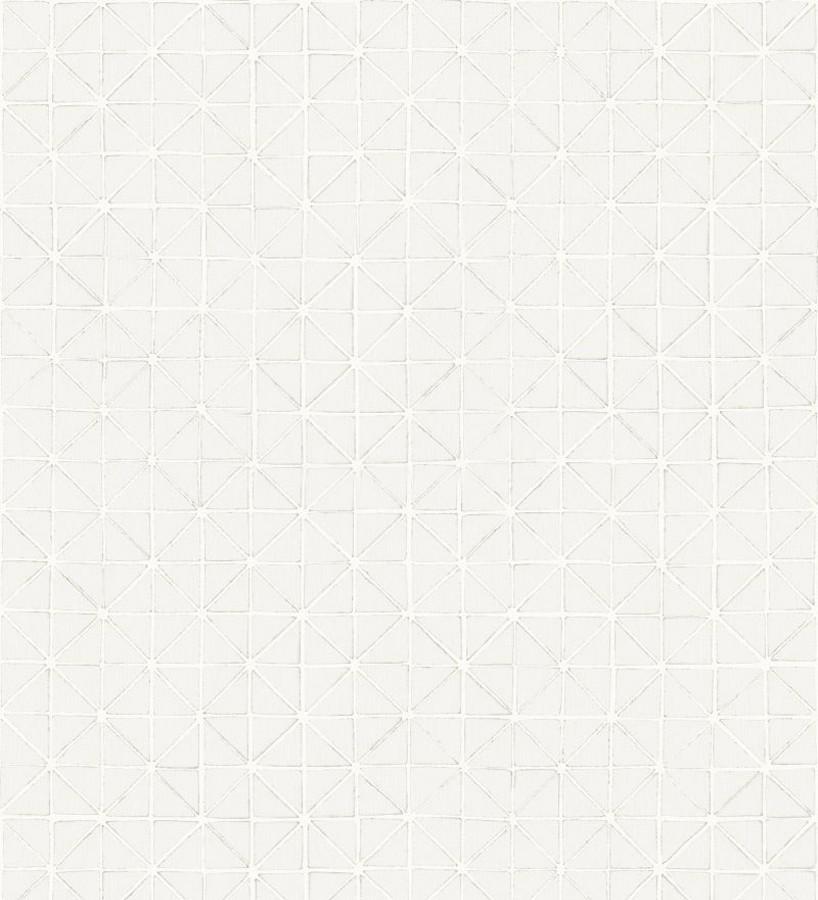 Papel pintado celosía geométrica árabe Baltic Diamonds 677444