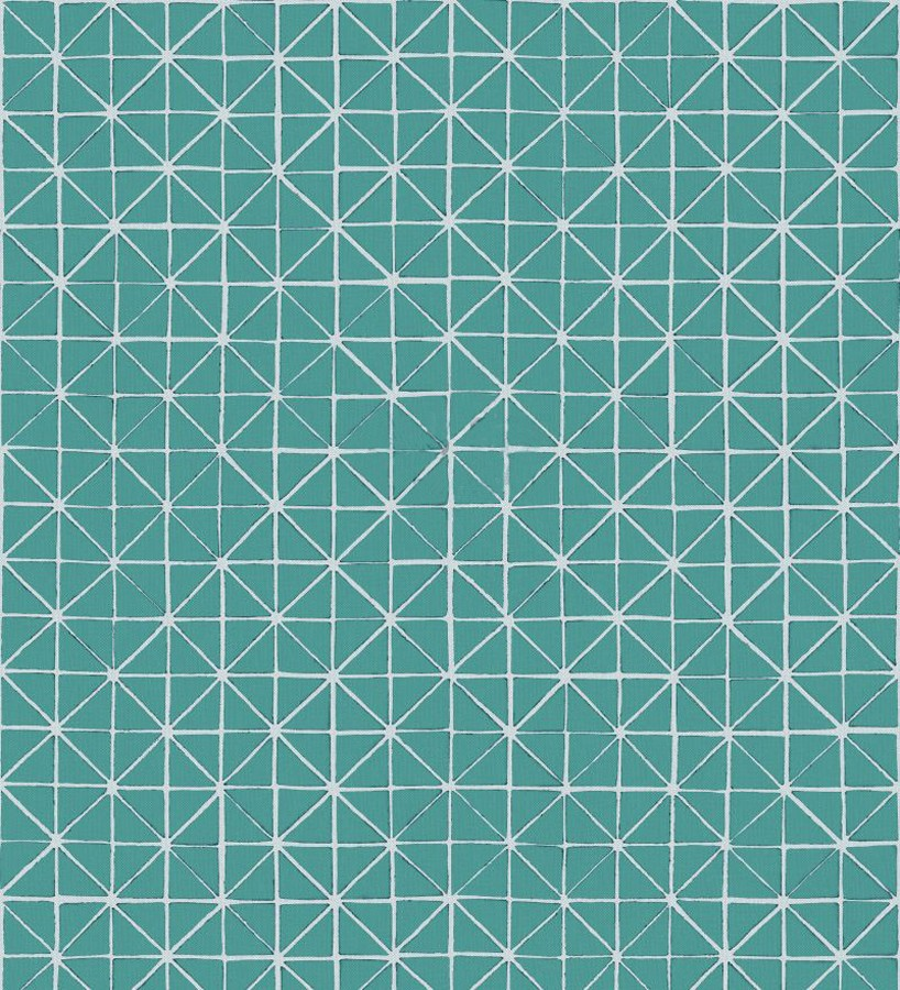 Papel pintado celosía geométrica árabe Baltic Diamonds 677448