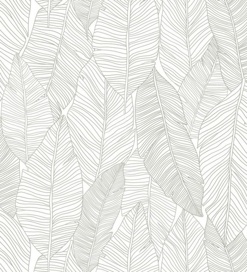 Papel pintado hojas modernas estilo tropical Manila Tropical 679052