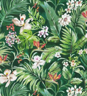 Papel pintado bosque tropical Blooming Tropical 679082