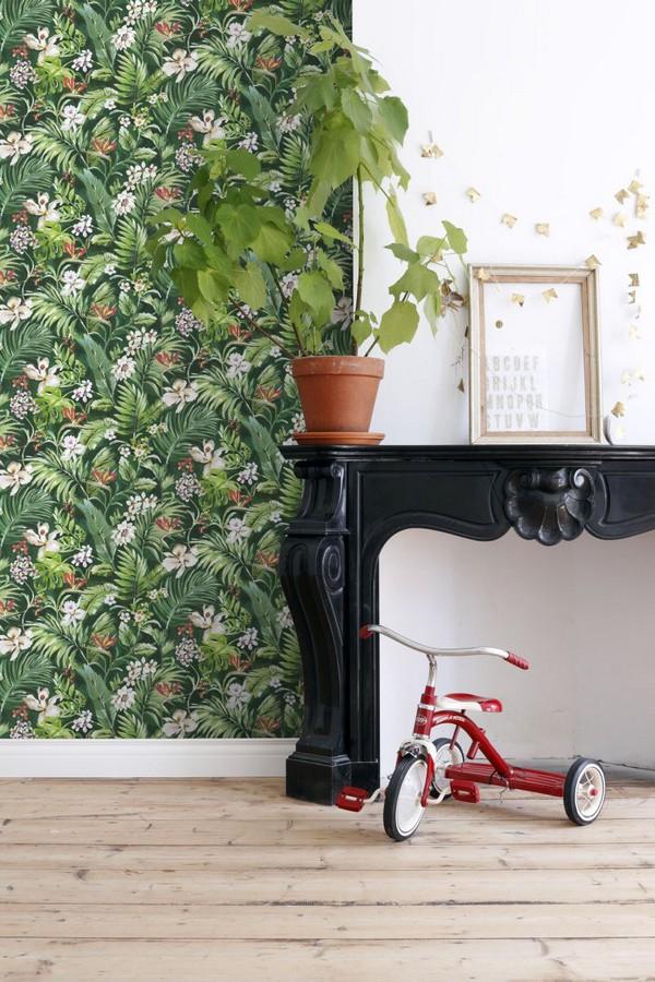 Papel pintado bosque tropical Blooming Tropical 679082
