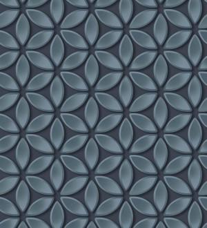Papel pintado flores geométricas Metrical Flowers 125742