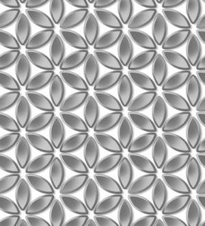 Papel pintado flores geométricas Metrical Flowers 125744