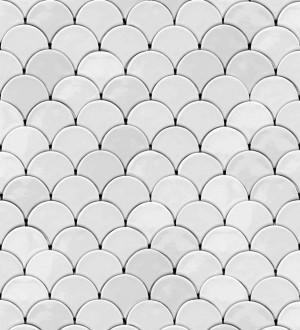 Papel pintado círculos geométricos Danish Rings 125759