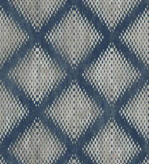 Papel pintado geométrico de rombos difuminados Mali Skin 125766
