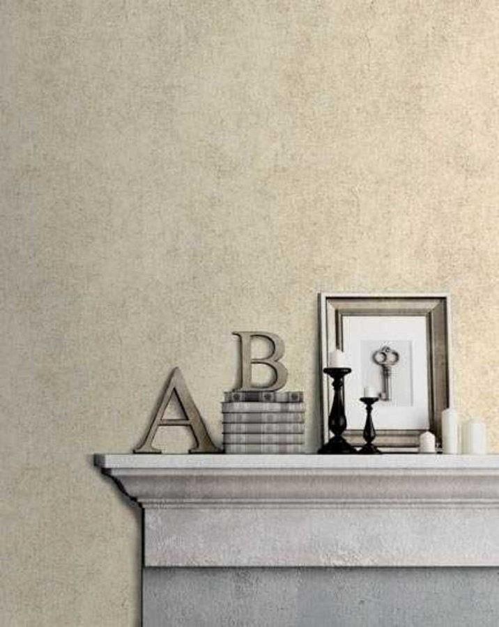 Papel pintado cemento liso agrietado Conwy Stone 125788