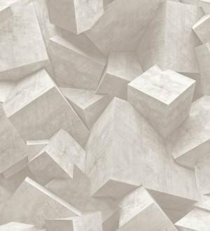 Papel pintado cubos de piedra Diagon 3D 125799