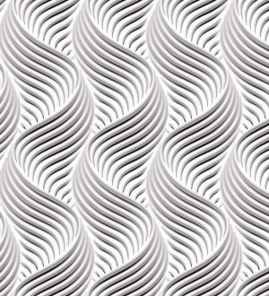 Papel pintado rayas onduladas estilo moderno Modern Twister 125838