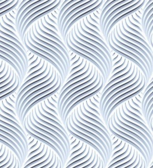 Papel pintado rayas onduladas estilo moderno Modern Twister 125843